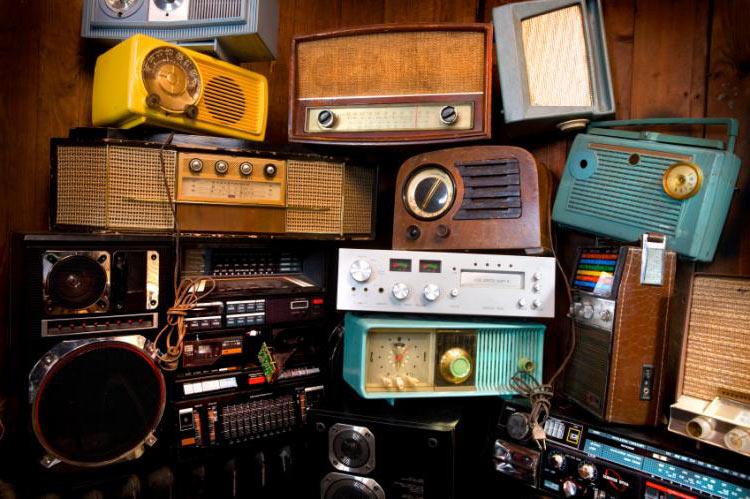 radio vecchie